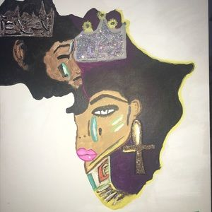 Other - King & Queen Painting